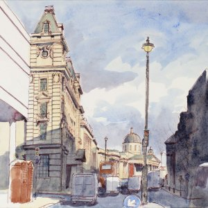 Pall Mall view, St James, London